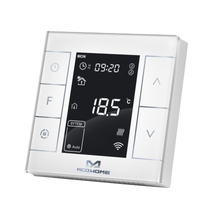 Mco Home Electrical Heating Thermostat With Humidity