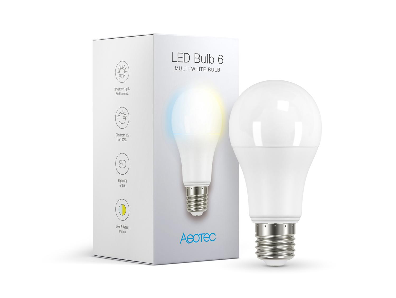 Aeotec Led Bulb 6 Multi White E27 Lighting Control